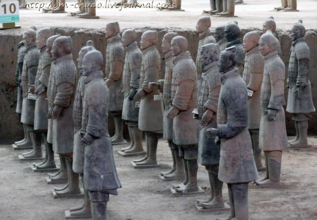 Воины терракотовой армии