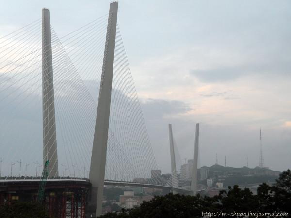 Владивосток. Золотой мост.