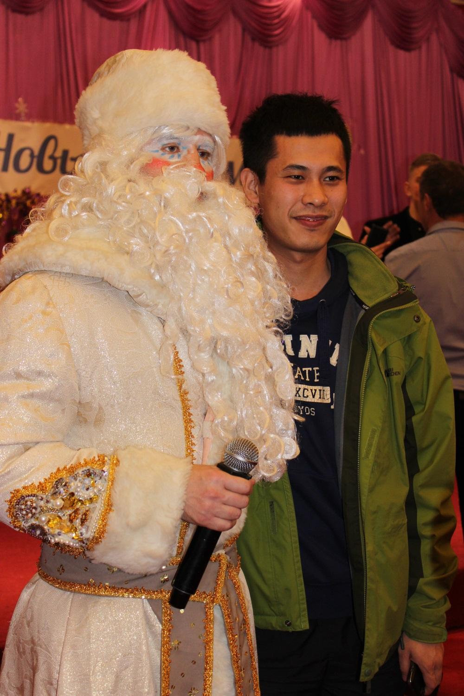 Дед Мороз из Хуньчуня.