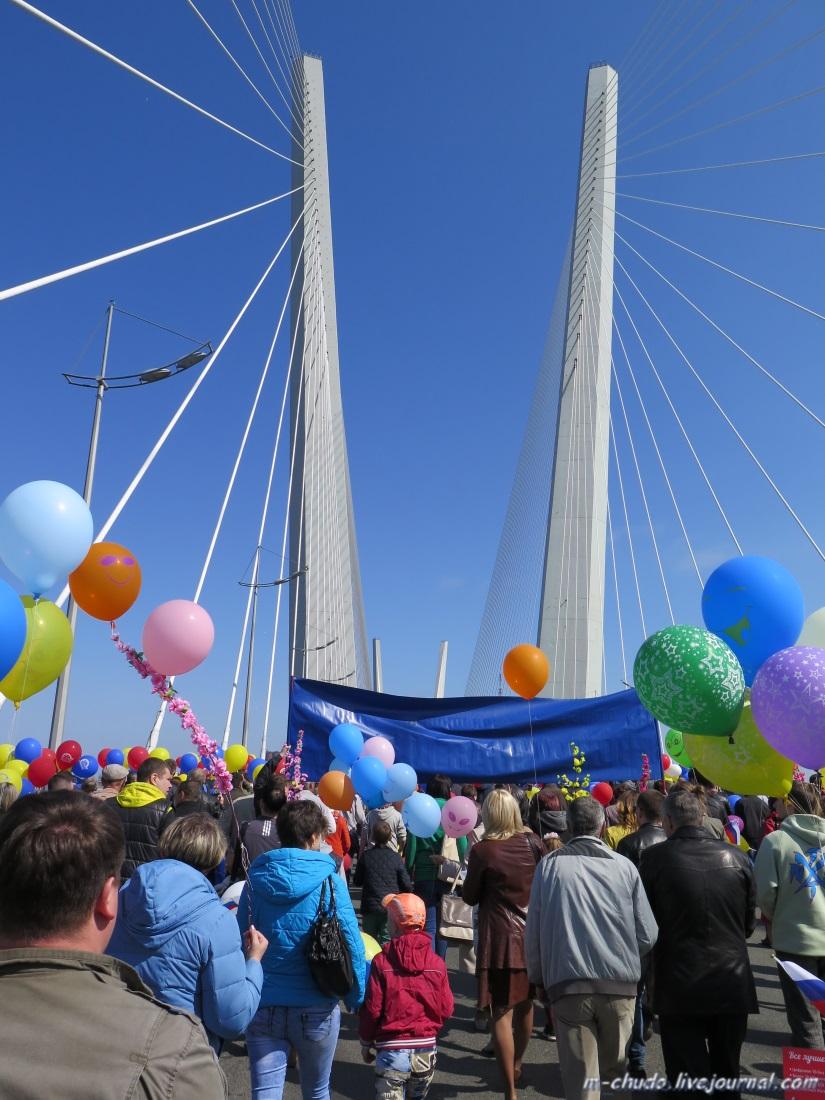1_Мост_демонстранты