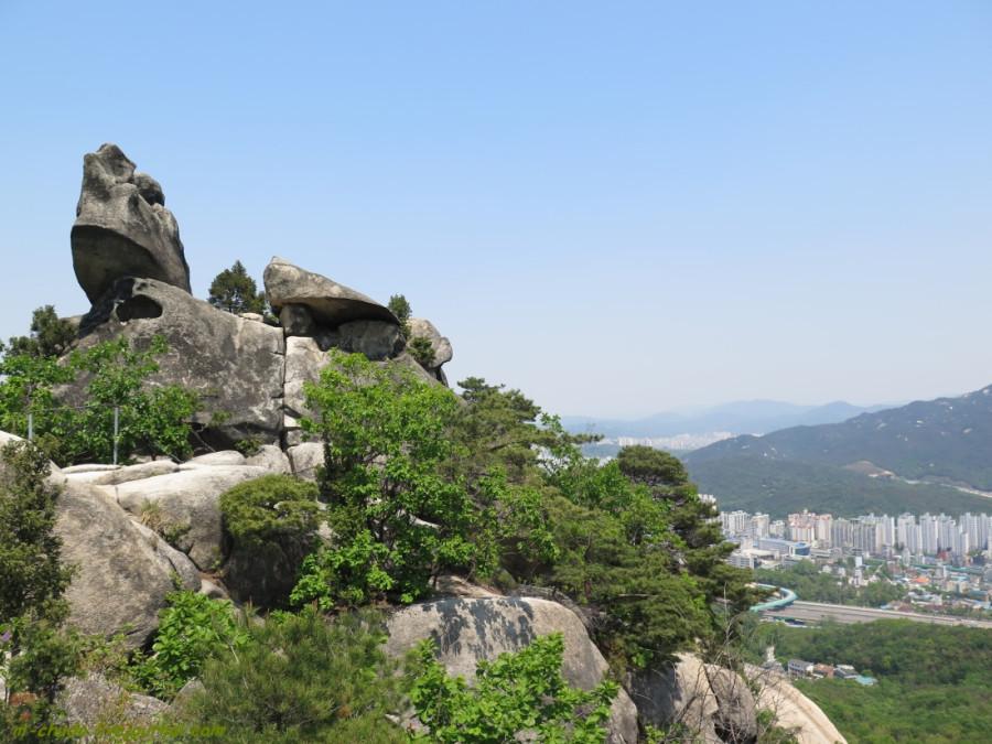 Национальный парк Бухансан.