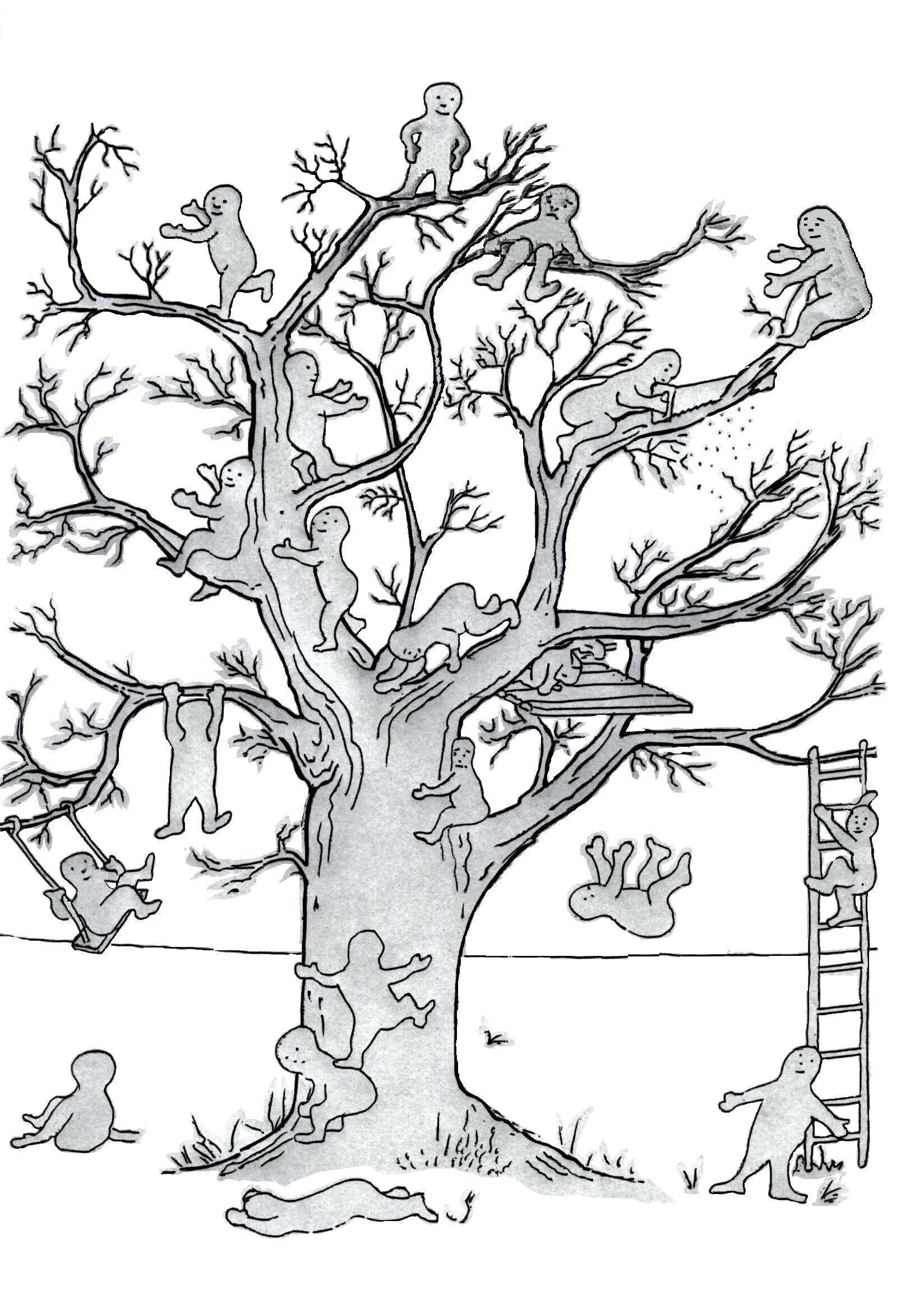 Тест дерево лучше рисовать