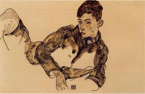 Эгон Шиле, работа1917 года.jpg