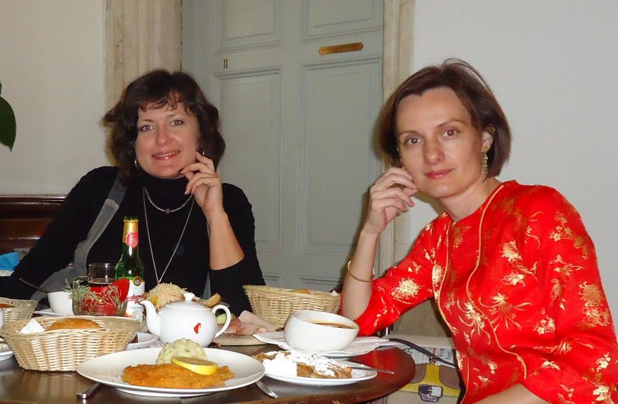 Ольга Подольская и Ольга Бермант-Полякова