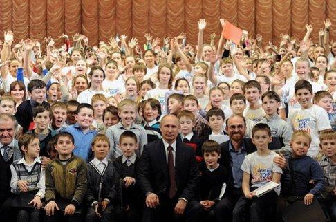 Путин театр