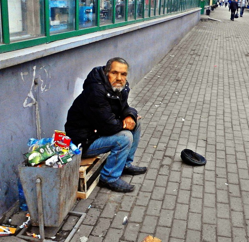Екатеринбург нищий
