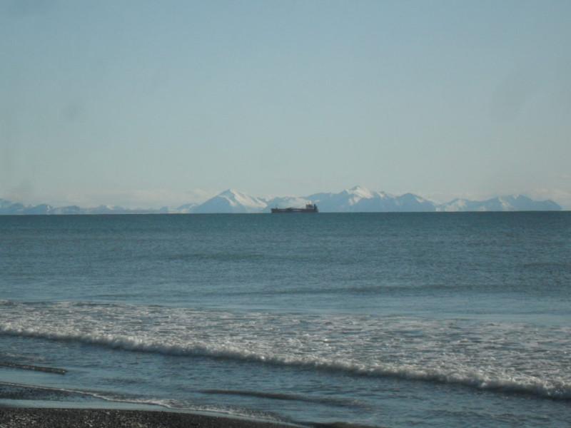 Олюторский залив танкер