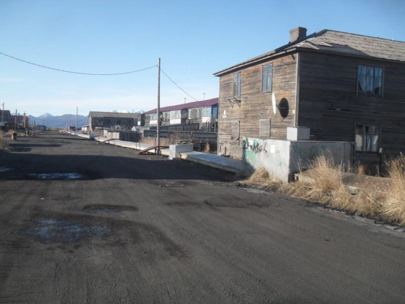 Камчатка село Пахачи теплотрасса