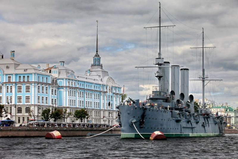 Санкт-Петербург крейсер Аврора