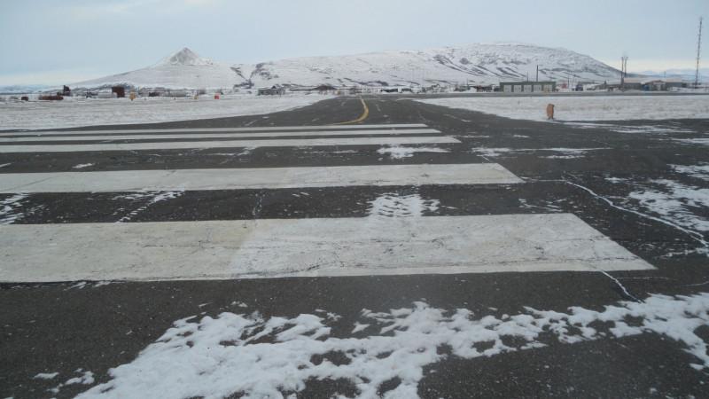 Взлетная полоса аэропорта Пахачи.