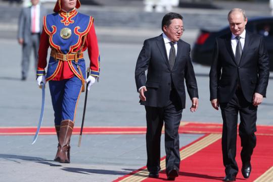 Произведите нас в монголы...