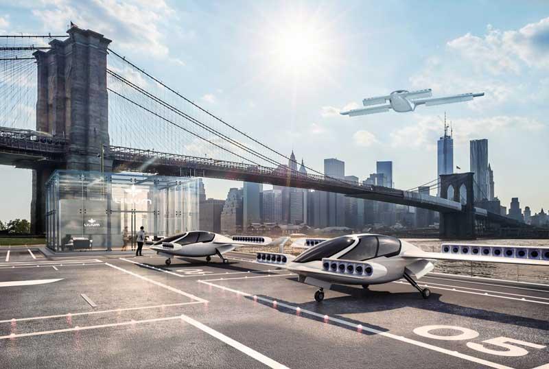 """""""Lilium Jet"""" - прототип городского электролета-такси"""