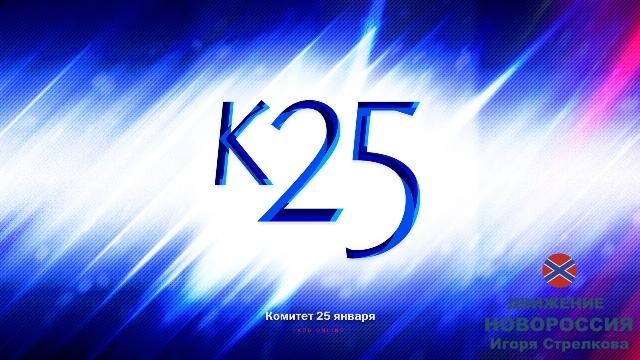 Первый отчет о сборе средств для К25/РОНД Игоря Стрелкова