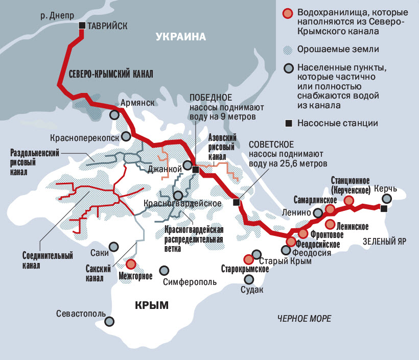 Засуха: а вот и последствия того, что ослы взяли один Крым