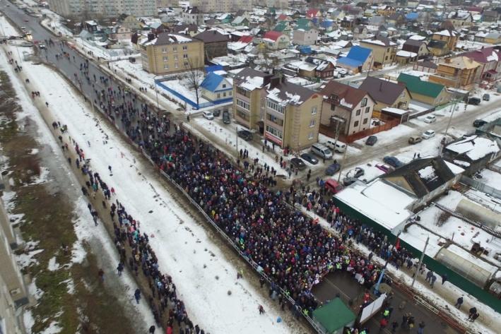 "Администрация Котласа врёт про митинг против свалке в Шиесе. Еще раз о ""левом повороте"""