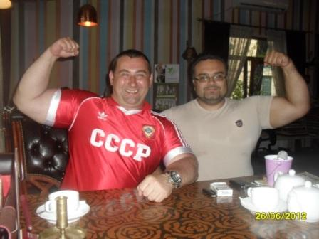 Максим Калашников и Иван Стоянов