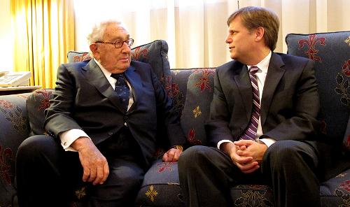 Генри Киссинджер в Спасо-хаусе. 19 января 2012 г.