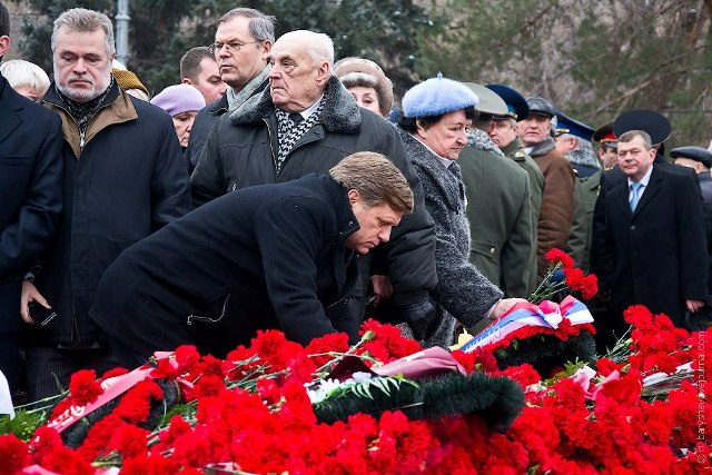 WreathLaying