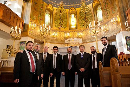 В Московской хоральной синагоге