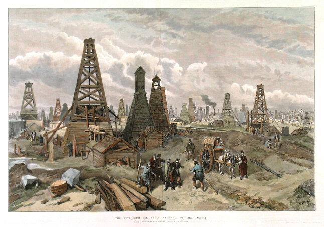 hazar petrol kuyuları