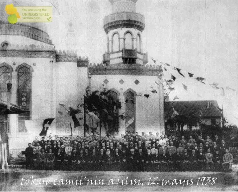tokyo camii'nin açılışı, 12 mayıs 1938