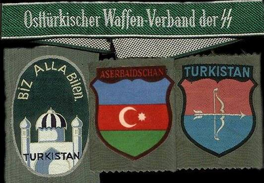 türkistan lejyon armaları