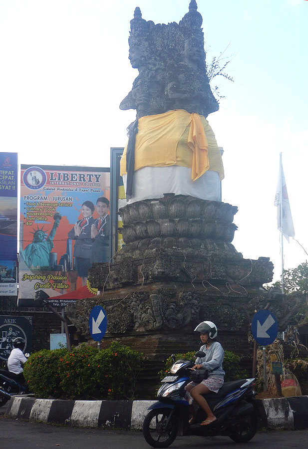 Главный перекресток Бангли