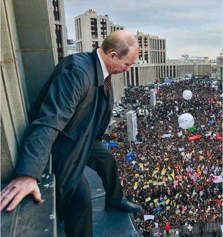 Путин журавль