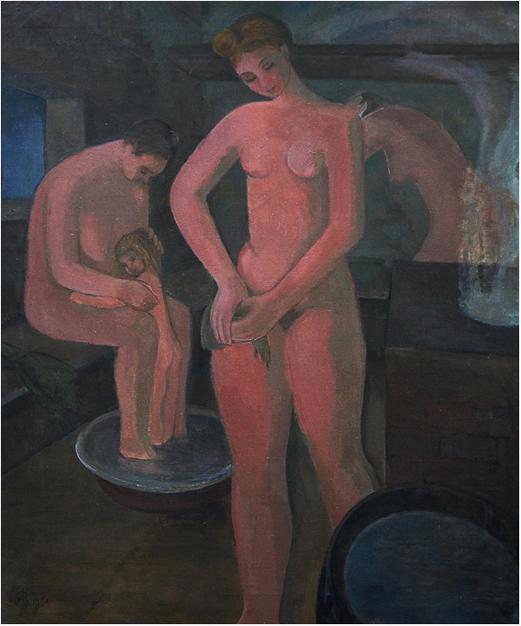 Власова Алевтина В бане