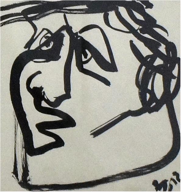 Белютин Элий Иллюстрация к Оттепели 1954