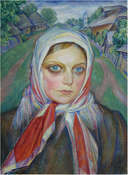 72_Sh Krestianskaya devushka 1920