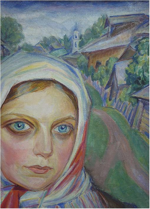 72_Sh Krestianskaya devushka 1920 det