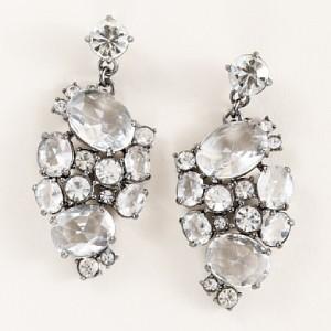 Crystal mosaic earrings 28_65