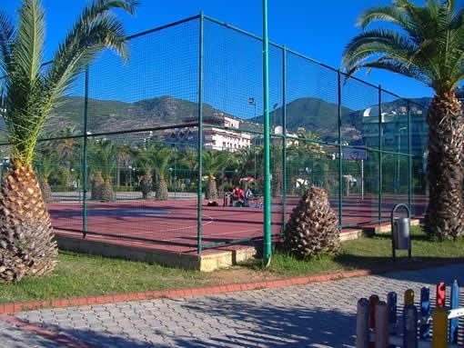 filika теннисный корт