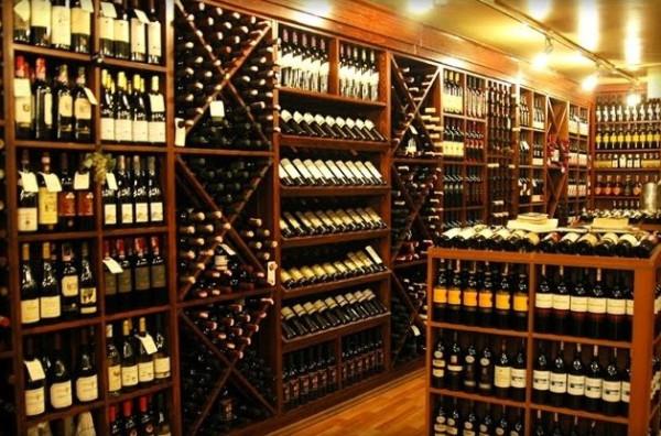 şarap mağazası