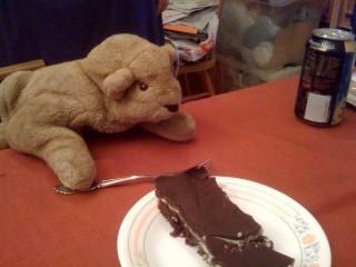 Leonardo Eats Dessert