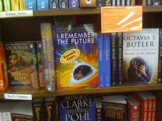 I Remember the Future at Brookline Booksmith Photo #2