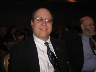 Michael A. Burstein at the 2007 Nebula Banquet
