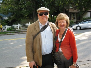 Michael A. Burstein and Senator Cynthia Stone Creem