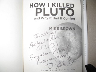 Mike Brown's Message to Supporters of Pluto