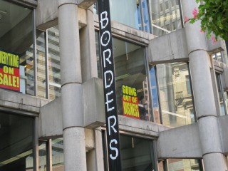 Borders Going Out of Business Sale