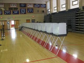 Empty Voting Stalls in Precinct 12