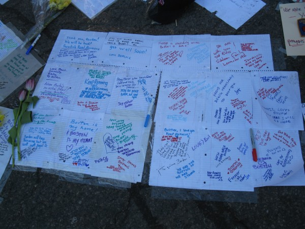 Messages to Boston