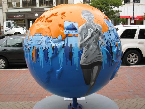 Boston Strong Cool Globe