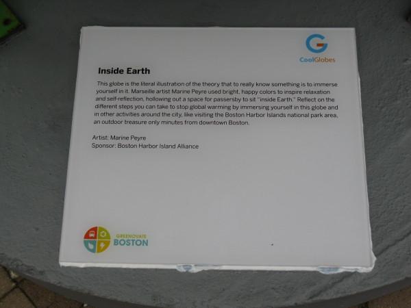 Placard: Inside Earth