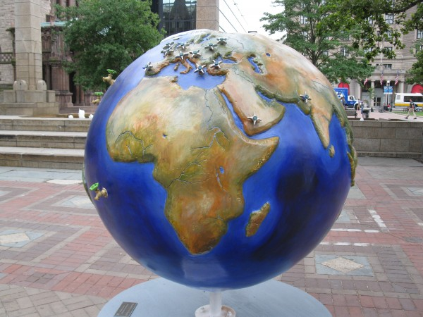 Conserve Water Cool Globe