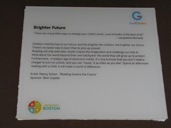 Placard: Brighter Future
