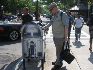 R2D2 and Michael