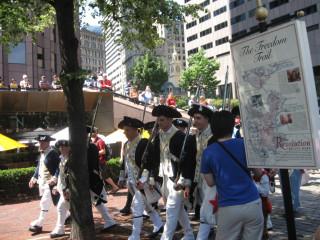 Marchers in Costume