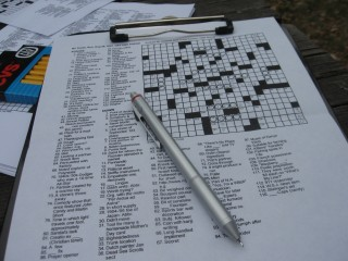 New York Times Crossword Puzzle - August 26, 2007